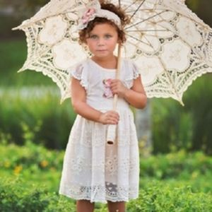 HAUTE BABY•Peach Blush•Dress with Headband